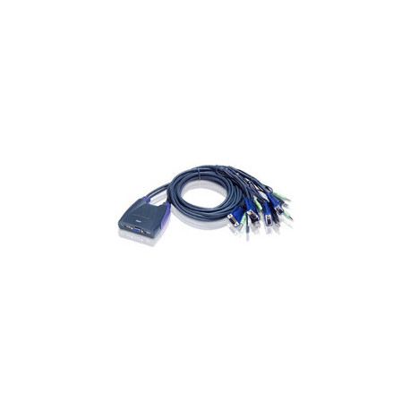 Aten CS64US 4-Port Cable KVM Switch Reference: CS64US-AT