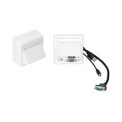 Vivolink Wall Connection Box VGA, USB, Ref: WI221183