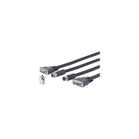 Vivolink Pro DVI-D Cross Wall cable 10M Ref: PRODVICW10
