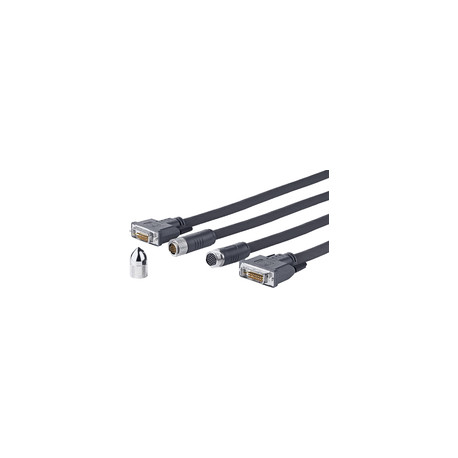 Vivolink Pro DVI-D Cross Wall cable 15M Ref: PRODVICW15