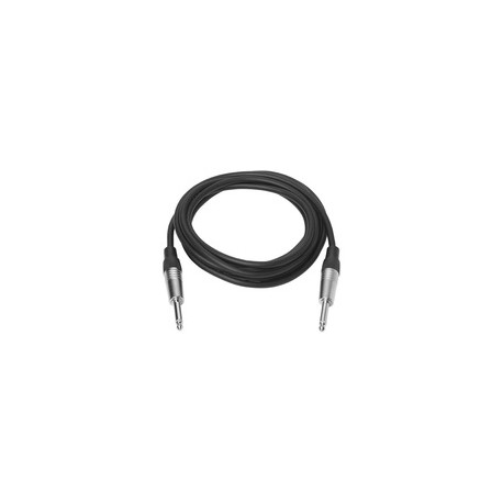 Vivolink Jack cable 1 meter Black Ref: PROAUDJACK1