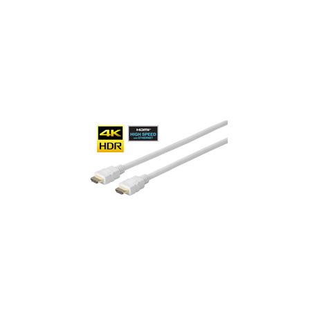 Vivolink Pro HDMI White Cable 7.5 Meter Ref: PROHDMIHD7.5W