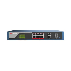 Hikvision 8 Port PoE Switch web managed Ref: DS-3E1310P-E
