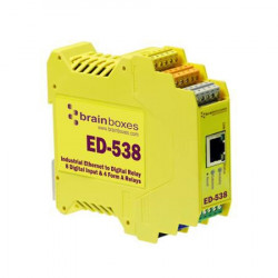 Brainboxes Ethernet to Digital IO Reference: ED-538