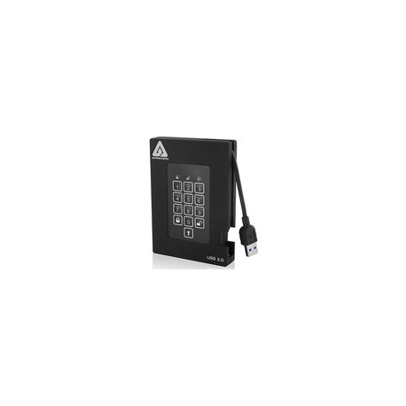 Apricorn HDD 2TB Encrypted USB 3.0 Ref: A25-3PL256-2000F