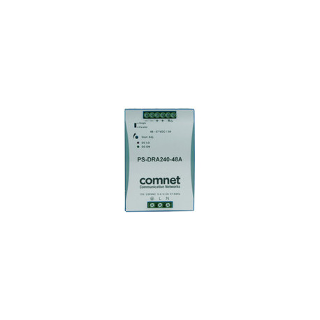 ComNet 48VDC 240W (5A) DIN rail Reference: PS-DRA240-48A