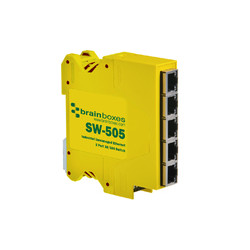 Brainboxes Ethernet Switch 5 ports Reference: SW-505